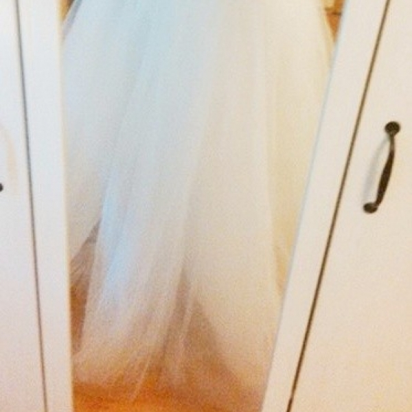 ... Svatební bílá tylová sukně. ZVĚTŠIT 760ed54889